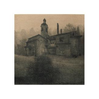 Lienzo de madera - Abandoned Place villa Echar Cuadro De Madera