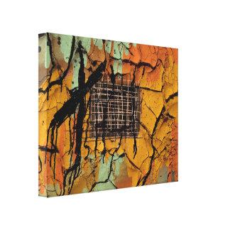 Lienzo Envuelto abstract Impresiones En Lona