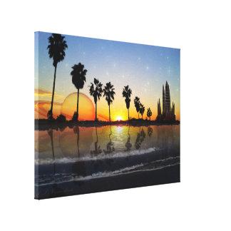 Lienzo envuelto Dream Beach Promodecor Lona Estirada Galerías