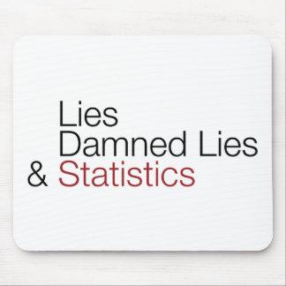 Lies, damned lies, & statistics mousepad