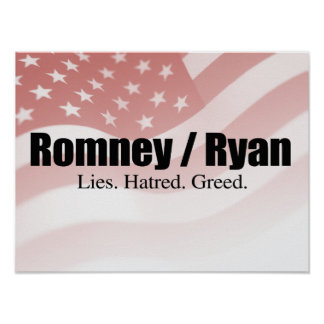 LIES HATRED GREED -.png Poster