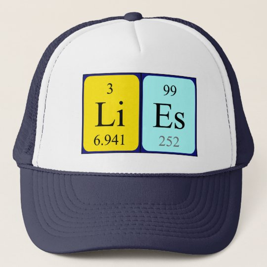 Lies periodic table name hat