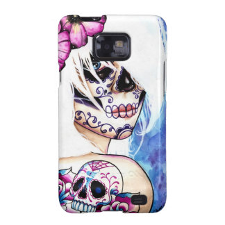 Lies Tattooed Day of the Dead Girl Portrait Galaxy SII Case