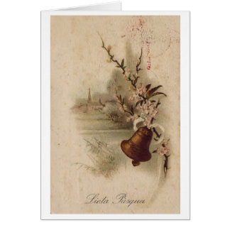 Lieta Pasqua! Vintage Italian Easter Card