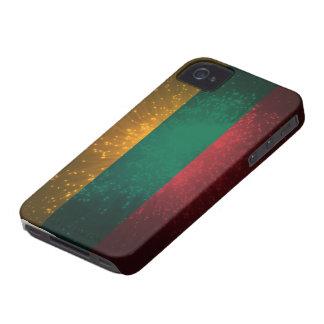 Lietuva; Lietuvos vėliava iPhone 4 Case-Mate Cases