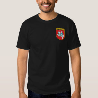 Lietuva (Lithuania) COA T-shirts