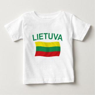 Lietuva (Lituania) litros verdes Remeras