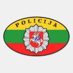 Lietuvos Policija Sticker