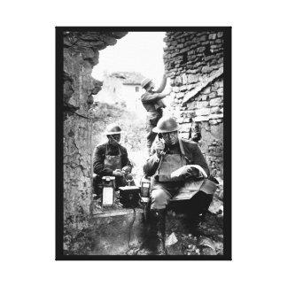 Lieut. Col. R. D. Garrett, chief_War image Canvas Print