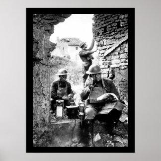 Lieut. Col. R. D. Garrett, chief_War image Poster