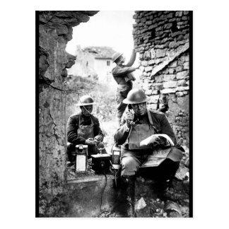 Lieut. Col. R.D. Garrett, imagen chief_War Postal