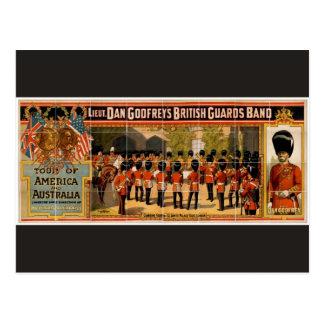 Lieut. Dan Godfrey's British Guards Band Retro The Postcard