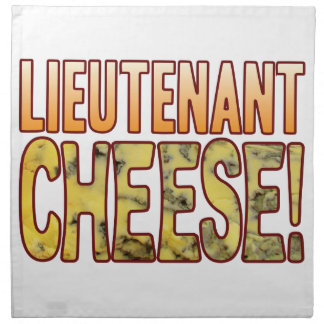 Lieutenant Blue Cheese Cloth Napkin