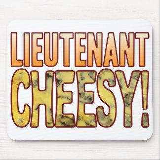 Lieutenant Blue Cheesy Mouse Pad