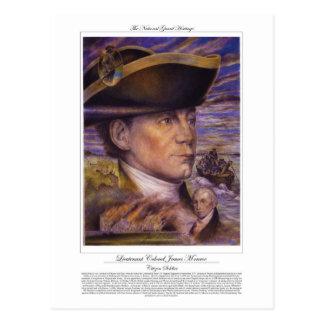 Lieutenant Colonel James Monroe Citizen Soldier Postcards