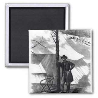 Lieutenant General Ulysses S. Grant 2 Inch Square Magnet
