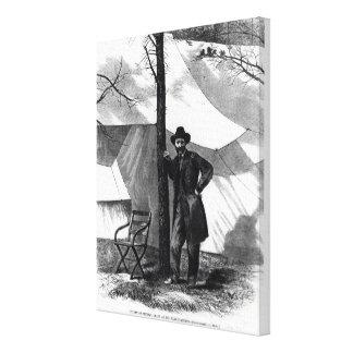 Lieutenant General Ulysses S. Grant Canvas Print