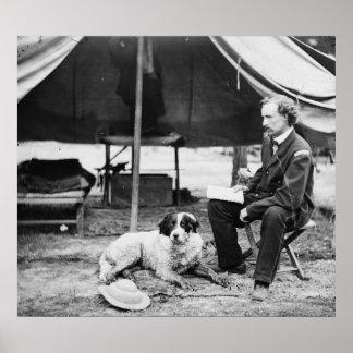 Lieutenant Georger Custer PhotographVirginia Poster