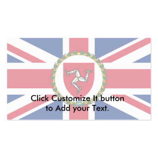 Lieutenant Governor Of The Isle Of Man, Ireland Double-Sided Standard Business Cards (Pack Of 100)