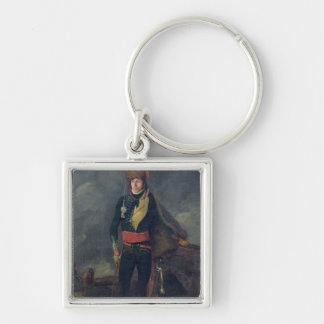 Lieutenant of the 8th Hussars Key Chains
