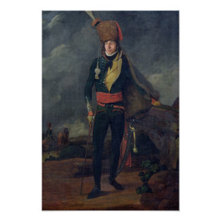 Lieutenant of the 8th Hussars Print