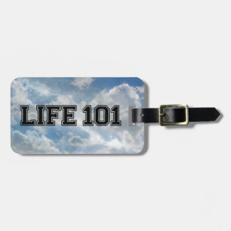 LIFE 101 - Muli Products Tags For Luggage