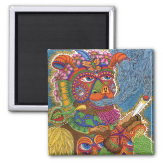 Life  2 inch square magnet