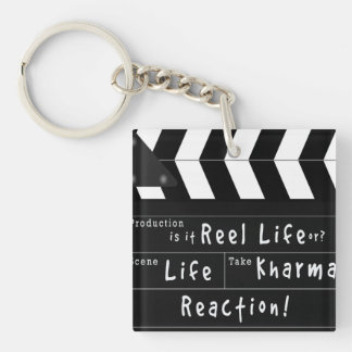 Life, Action, Kharma Keybob Keychain