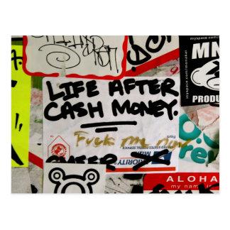Life After Cash Money Postcard