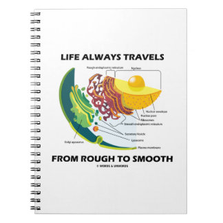 Life Always Travels From Rough To Smooth Notebook