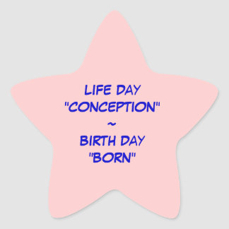 Life and Birth Sticker