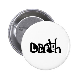 Life and Death 2 Inch Round Button