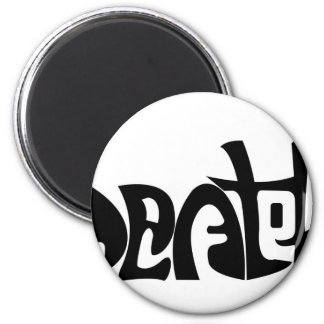 Life and Death 2 Inch Round Magnet