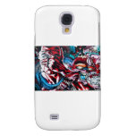 Life and Death. Graffiti on the textured wall. Samsung Galaxy S4 Cover