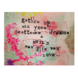 Life and Dream Postcard Postcards