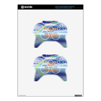 Life and hope xbox 360 controller decal