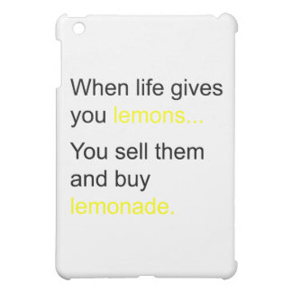 life and its lemons case for the iPad mini