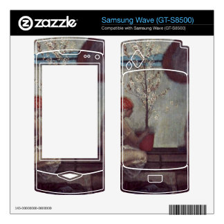life angel by Giovanni Segantini Decal For Samsung Wave