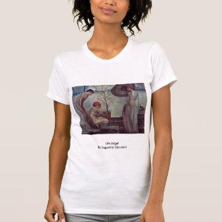 Life Angel By Segantini Giovanni Tee Shirt