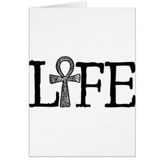 Life Ankh Card