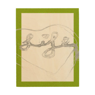 Life Art with Green border