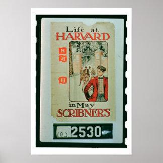 'Life at Harvard', poster advertising the May edit