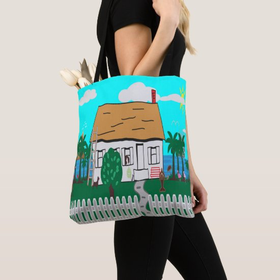 Life At The Beach Tote Bag