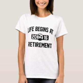 Life Begins At 2016 T-Shirt