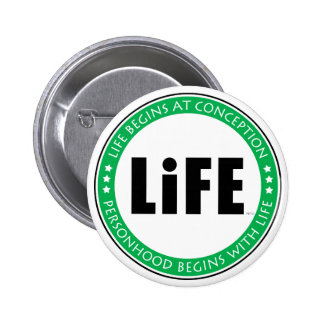 Life Begins At Conception Buttons