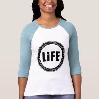 Life Begins At Conception Tshirt