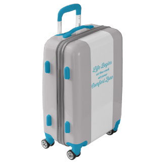 Life Begins at the End of Your Comfort Zone Luggage