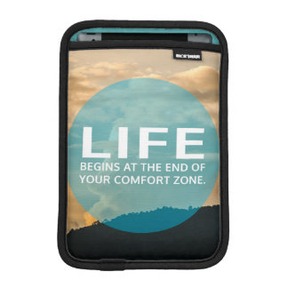 Life Begins iPad Mini Sleeve