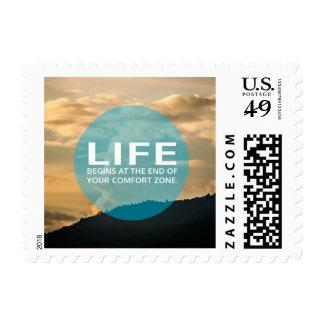 Life Begins Postage Stamp