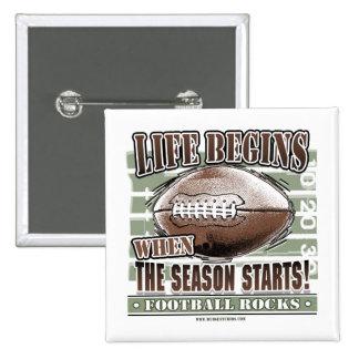 Life Begins When The Season Starts! Button